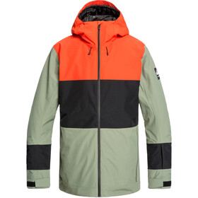 Quiksilver Sycamore Giacca Uomo, agave green